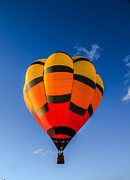 Balloon Aircraft Prints - Up Up And Away Print by Robert Bales