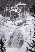 Richard Verkuyl - Upper Falls Yellowstone...