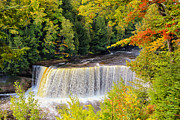 Rcnaturephotos Photos - Upper Tahquamenon Falls by Rachel Cohen