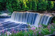 Newberry Prints - Upper Tahquamenon Falls Print by Thomas Pettengill
