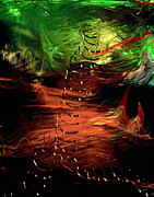 Expressionist Digital Art - Uprising by Gerlinde Keating - Keating Associates Inc