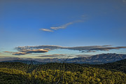 Sunset In Mountains Posters - Upslope Flow Poster by Steven Richardson