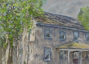 Old Houses Mixed Media - Upstate New York by Dennis Buckman