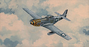 P-51 Framed Prints - Upupa Epops Framed Print by Wade Meyers
