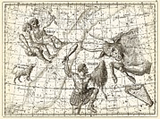 Uranographia Constellations, 1801 Print by Science Photo Library