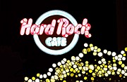 Urban Abstract Hard Rock Cafe Print by Dan Sproul