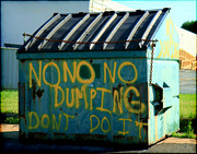 Denise Beverly - Urban Art Dumpster...
