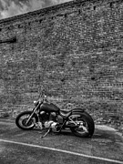 Harley Davidson Photos - Urban Bike 002 by Lance Vaughn