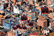 James Brunker - Urban Cable Cars La Paz