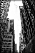 Urban Canyon Prints - Urban Canyon - New York City Print by Bill Cannon