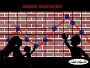 Urban Design Series- Urban Statistics Print by Cibeles Gonzalez