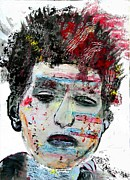 Rock Star Paintings - Urban Dylan by Brian Buckley