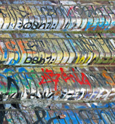 Graffiti Steps Prints - Urban Expression Print by Jon Blumenaus