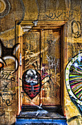 Frame House Photos - Urban Graffiti 01 by Antony McAulay