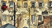 Disrepair Metal Prints - Urban Lisbon Metal Print by David Letts