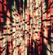 Urban Maze Print by Kellice Swaggerty