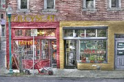 Urban Mercyseat Oil Painting Print by Liane Wright