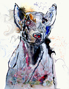 Brian Buckley Paintings - Urban Pitbull Ii by Brian Buckley