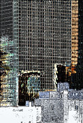 Reflective Surfaces Art - Urban Structure by Kellice Swaggerty