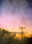 Russ Brown Art - Urban sunrise by Russ Brown