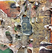 Weathered Mixed Media Originals - Urban Typography Piece #5 by Conor OBrien