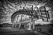Terminal Photo Prints - Urbanator  Print by Evelina Kremsdorf