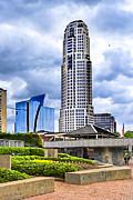 Urbania - Atlanta Buckhead Skyline Print by Mark E Tisdale