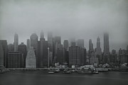 New York Skyline Art - Urbanoia by Evelina Kremsdorf