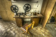 Antique Digital Art Prints - Urbex edit Print by Nathan Wright