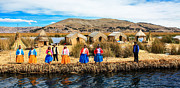 Uros Island Photo Acrylic Prints - Uros Acrylic Print by Jennifer Phlieger