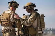 Featured Art - U.s. Air Force Pararescue Jumpers by Stocktrek Images