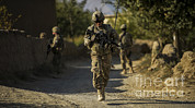 Dirt Roads Photos - U.s. Air Force Staff Sergeant Makes by Stocktrek Images