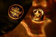 Patrol Digital Art Prints - US Border Patrol Print by Daniel Alcocer