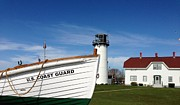 Chatham Painting Posters - U.S. Coast Guard Chatham Poster by Valerie Twomey