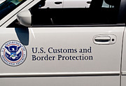Crime Fighting Prints - U.S. Customs and Border Protection Print by  Terrie Heslop