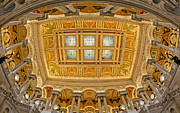 Building Art - US Library Of Congress by Susan Candelario