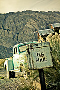 Mail Box Photo Metal Prints - Us Mail Metal Print by Merrick Imagery
