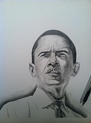 Bad Drawing Originals - U.S President by Doukase Thelemaque