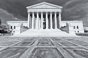 D.w Prints - US Supreme Court Building IX Print by Clarence Holmes
