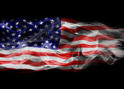 Election Posters - USA Flag Smoke  Poster by Jt PhotoDesign