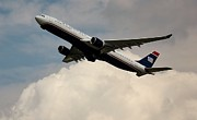 Rene Triay Photography Prints - USAIR Airbus Print by Rene Triay Photography