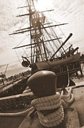 Boston Ma Photo Prints - USS Constitution Print by Catherine Reusch  Daley