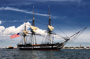 Old Ironsides Prints - USS Constitution Print by Mountain Dreams
