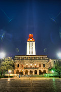 Quad Posters - UT Tower Regular Season Win Poster by Preston Broadfoot