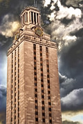 Ut Tower Print by Tejas Prints