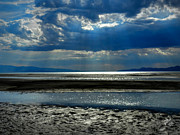 Terminal Photos - Utah - Great Salt Lake 001 by Lance Vaughn