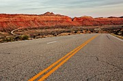 Scenic Drive Photo Posters - Utah Highway Poster by Benjamin Yeager