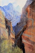 Utah Red Rocks Print by Sandra Strohschein