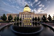Kayta Kobayashi - Utah state capitol sundown