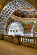 Granite Arches Framed Prints - Utah State Capitol Framed Print by Utah Images